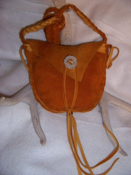 leather possibles bag mountain