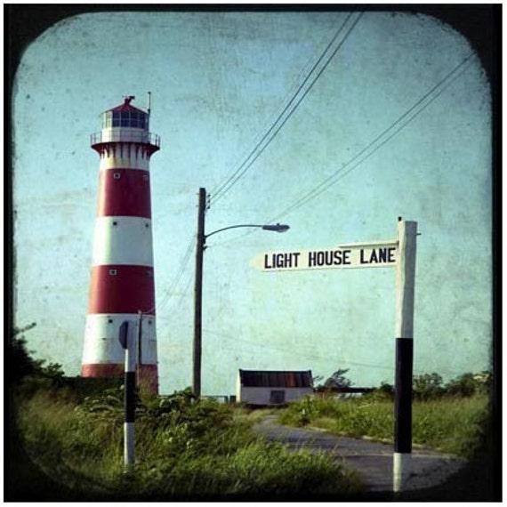 Light House Lane - Signed Original Fine Art Photograph