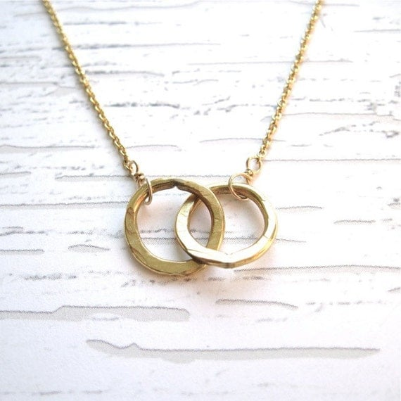 Sister Necklace, 2 Sisters Necklace, Gold Sister Necklace, Gift for Her, Gift for Sister, Gift Under 50