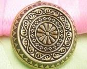 1pc antique bronze copper locket pendant-3816