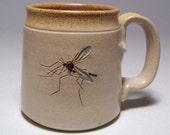 Mosquito Pottery Coffee  Mug Limited Series 152 (microwave safe)