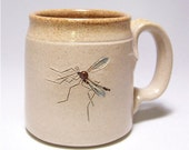 Mosquito Stoneware Coffee  Mug Limited Series 149 (microwave safe) 12 oz