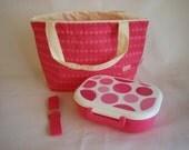 Pink bento set