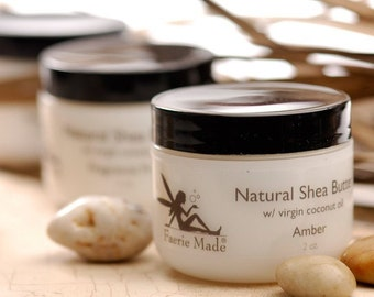 Natural Shea Butter W\/ Virgin Coconut Oil Fragrance Free