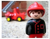 Friendly Fireman Two - Note Card