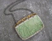 Sea Foam Beauty Pendant - on sale - Get COUPON CODE in my shop announcement