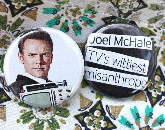 JoeL McHaLe TV's WiTTieST MiSaNTHRoPe  BuTToNs