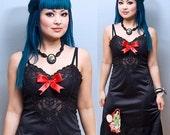 SHRINKLE Reconstructed Geisha Vintage Slip Dress