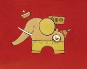 Elephant Satellite  7 in....