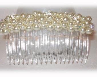 Pearl Cluster Haircomb