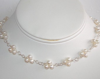 Pearl Trio Necklace