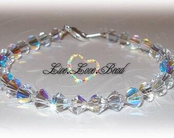 Back 2 Basics Clear AB Bracelet