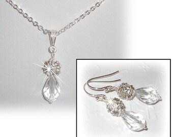 Bliss and Crystal Bridal Set