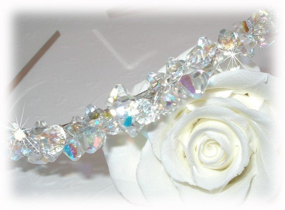 Fire and Ice Crystal Tiara