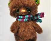 Artist Teddy Bear Jimmy OOAK