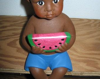 Boy w/ Watermelon