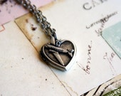 loves to fly. airplane locket necklace. silver ox