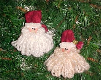 Santa Spool Ornie