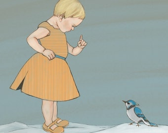 Winter Girl - Print