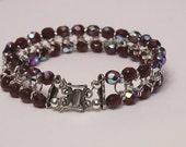 Pomegranate Chainmaille Bracelet , Persephone Braceley