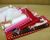 Scrap Pack in Pink - Cotton Quilting Fabric
