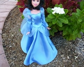 Cinderella Doll Dress, Sized for Barbie Doll