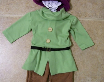 Dopey the Dwarf Children's Costume