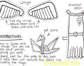 Paper Doll Kit - Colour in your own Voodoo Susan PDF