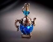 Fried Marble - Sparkling Teapot Aqua Blue
