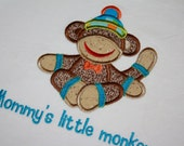 Mommy or Daddys little one custom applique