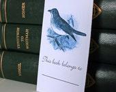 Bird Sketch Bookplates set of 16