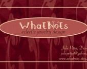 Custom Biz Cards for WhatNots