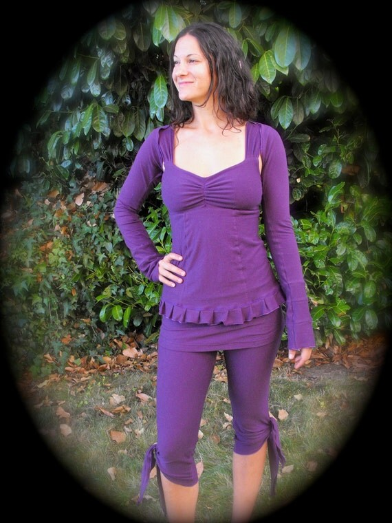 Whole Outfit Special Sale - Ruffle Tank, Freedom Shrug, and Fierce Capri's, Choose your size and color
