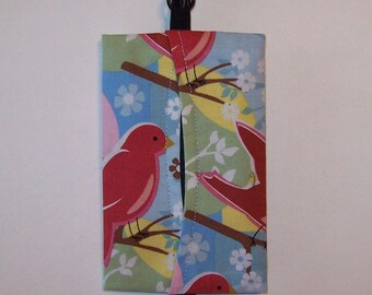 Auto Visor Tissue Caddy - Tissue Cozy - Stylish Tissue Holder For Your Car - Feathered Friends