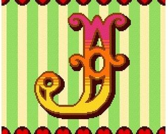 Curious Alphabet - J