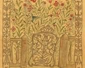 The Garden Gate - Print