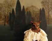 Fox Doll Print