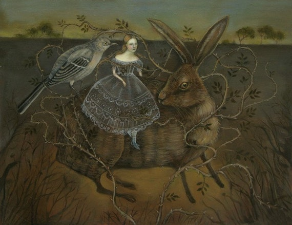 The Mockingbird and the Hare - Print