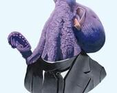 Octopus print 5x7