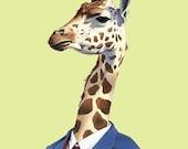 Giraffe print 11x14