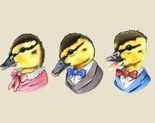 Ducklings print 5x7