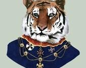 Tiger print 8x10