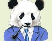 Panda print 5x7