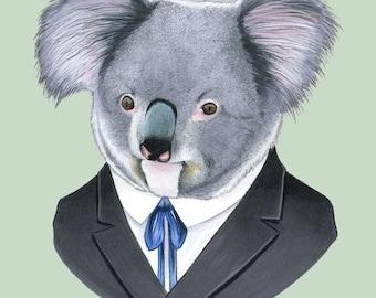 Koala print 11x14