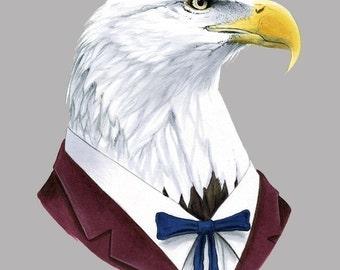 Bald Eagle print 8x10