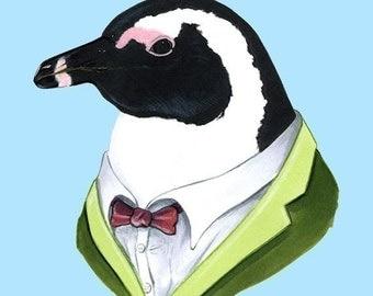 Penguin print 5x7