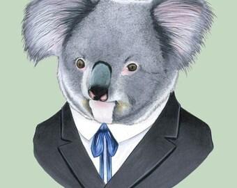 Koala print 5x7