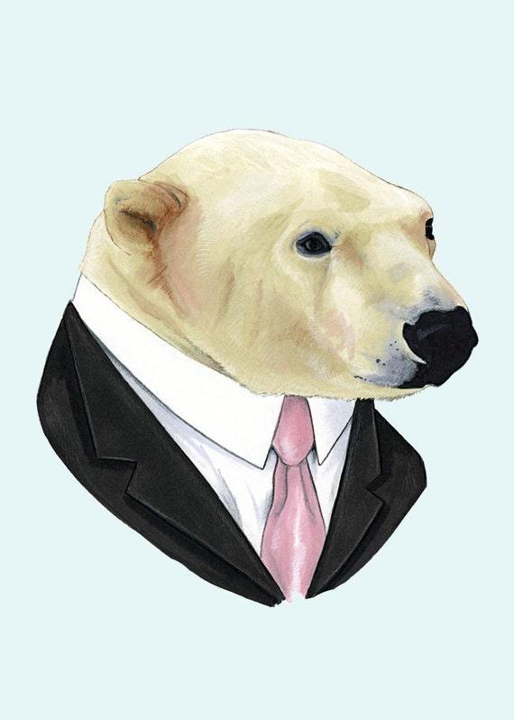 Polar Bear print 5x7