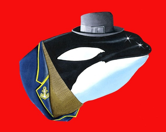 Orca print 8x10