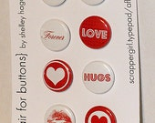 Flair Buttons-Valentines